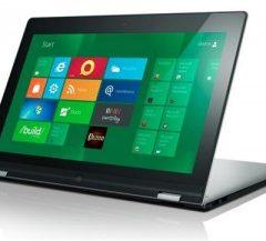 Udělejte si z ultrabooku tablet – Lenovo (CES 2012)