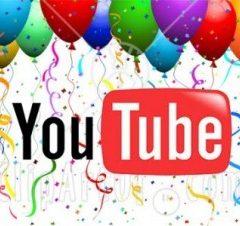 YouTube slaví 7. narozeniny