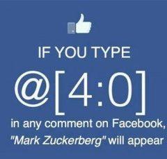 Mark Zuckerberg se zobrazuje pod tajemným kódem