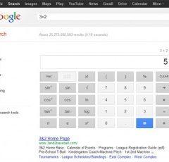 Google má kalkulačku ve vyhledávači