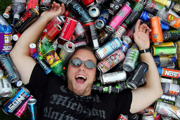 Fotografie z Energetické nápoje a jejich hrozby