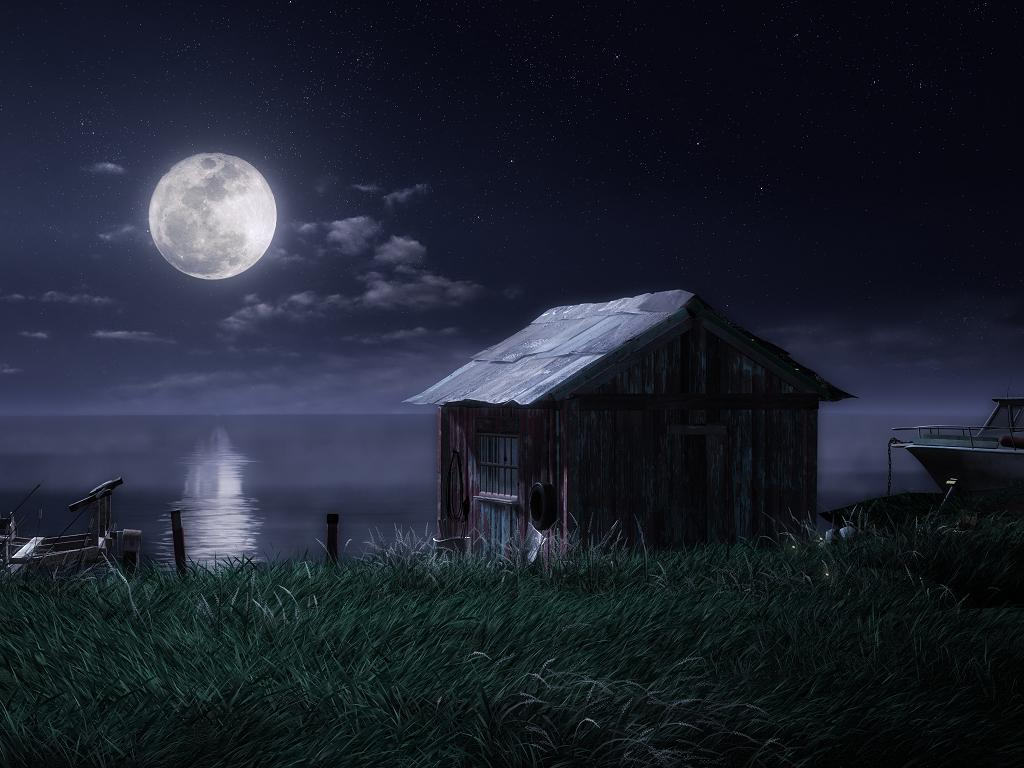 Photo of Měsíc a nebo mimozemská loď?