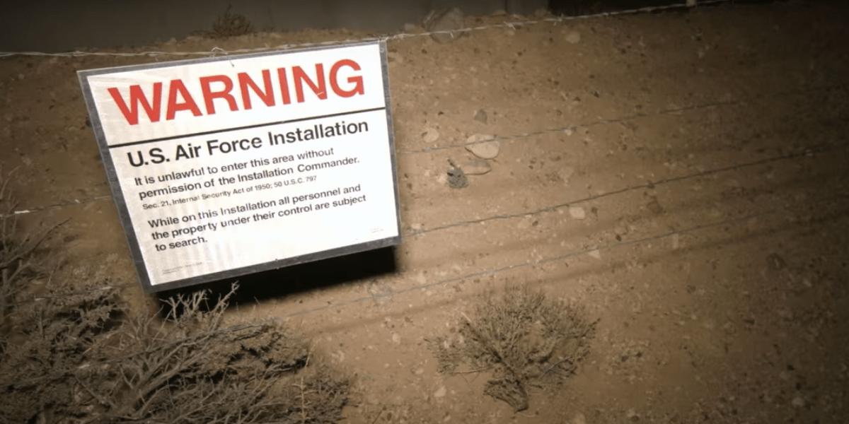 Fotografie z Největší záhady Area 51